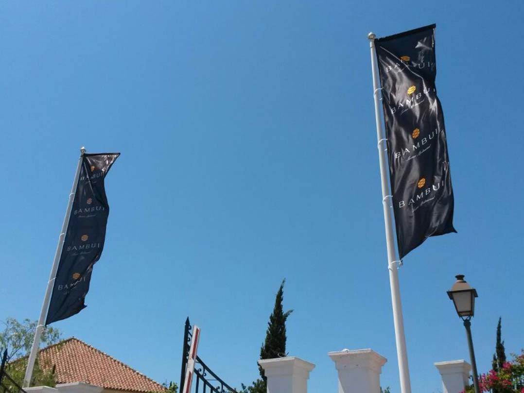 Banderas Impresion Mastil