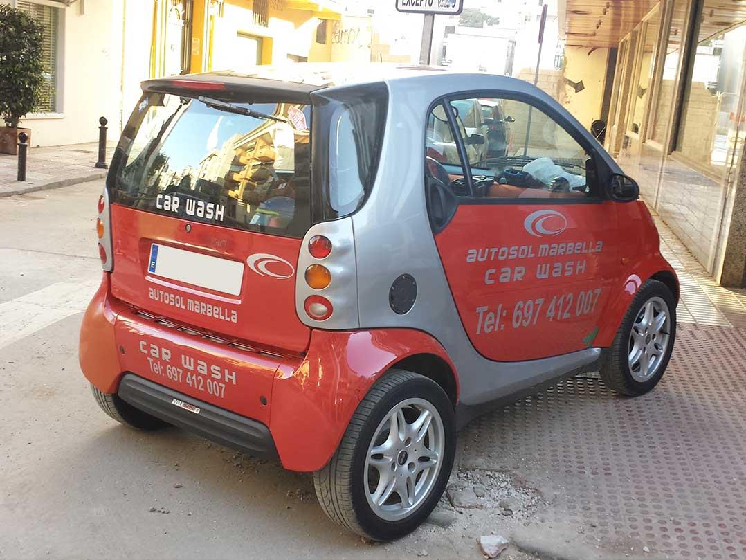 Rotulación Smart - Vinilo Corte - Autosol Marbella